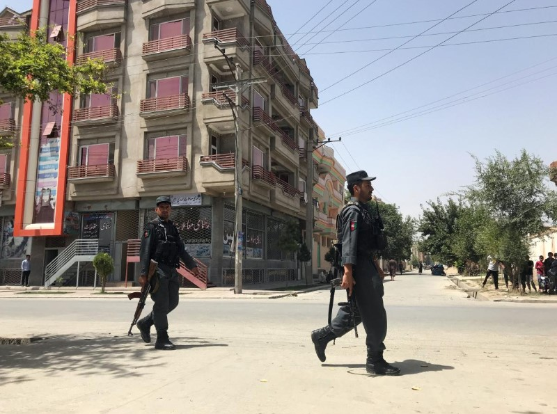 Gunmen Attack Intelligence Service Center In Afghan Capital