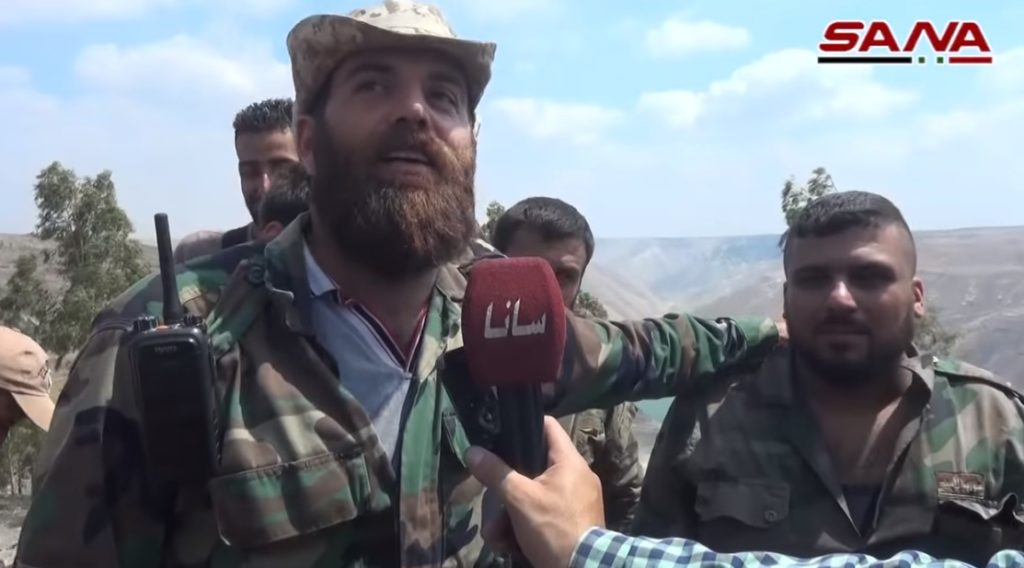 In Video, Photos: Government Troops In Villages Liberated From ISIS In Southern Syria
