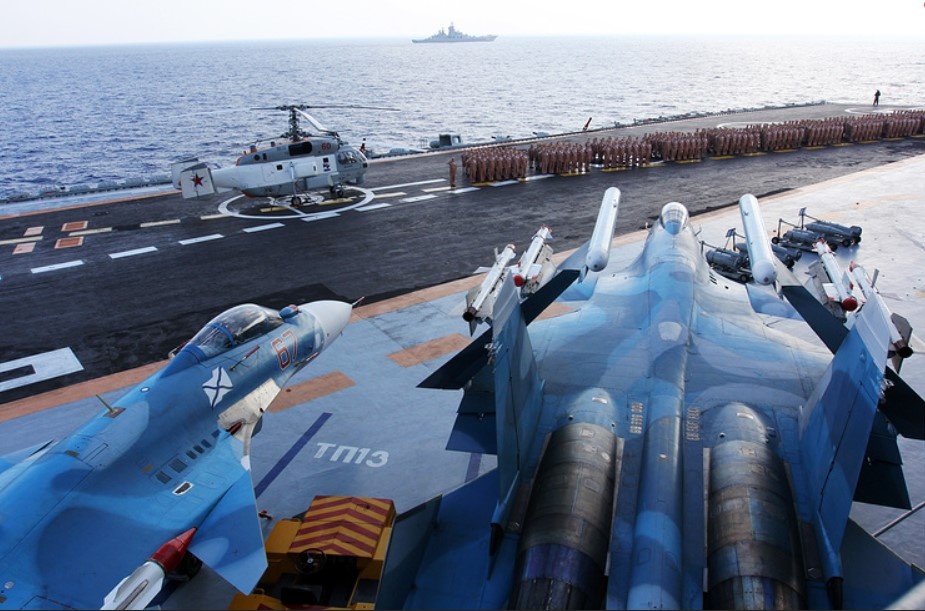 Russia Is Working On Nuclear-Powered Aircraft Carrier