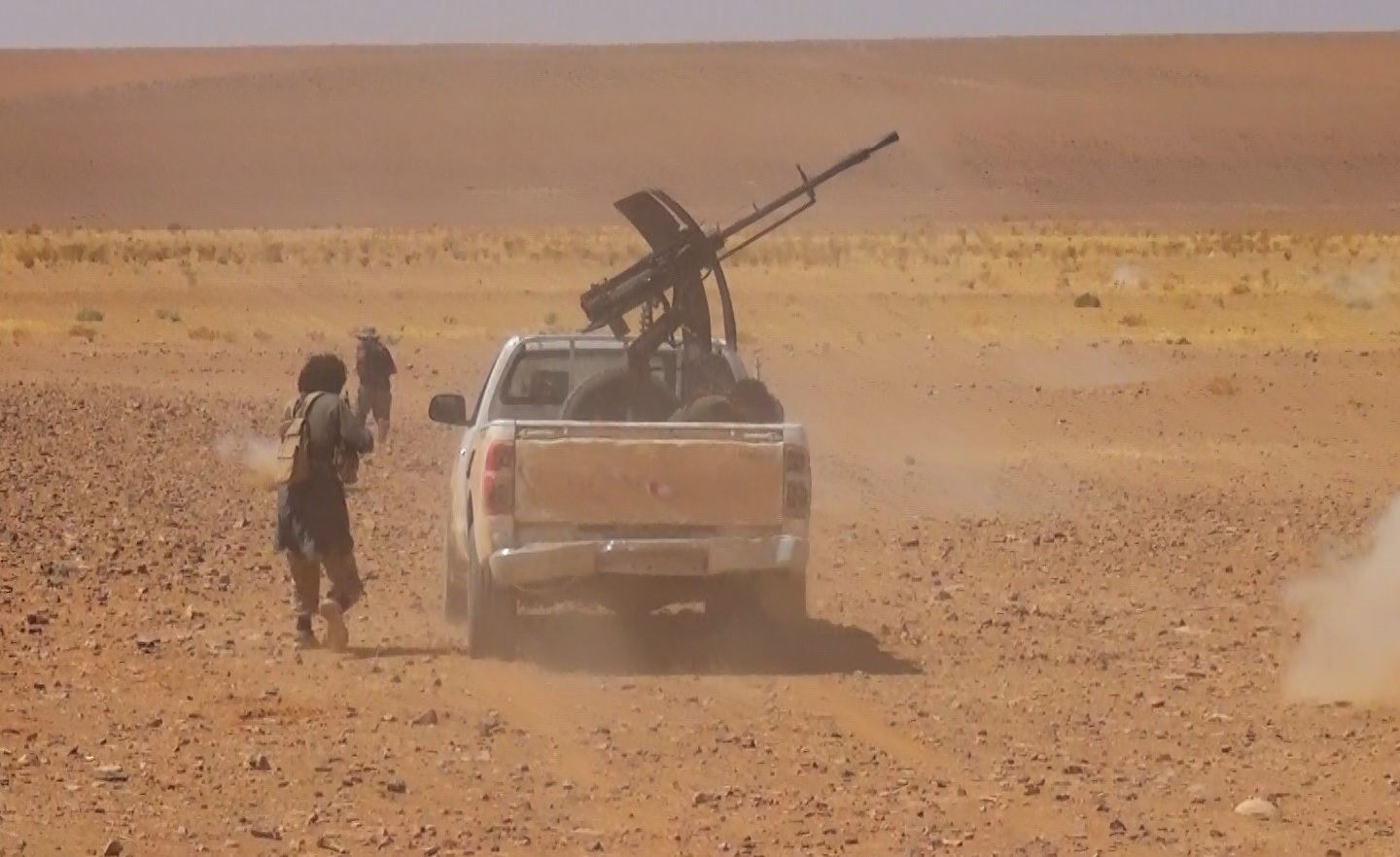 More Details About ISIS Amubsh Of Syrian Army Unit In Al-Safa Two Days Ago