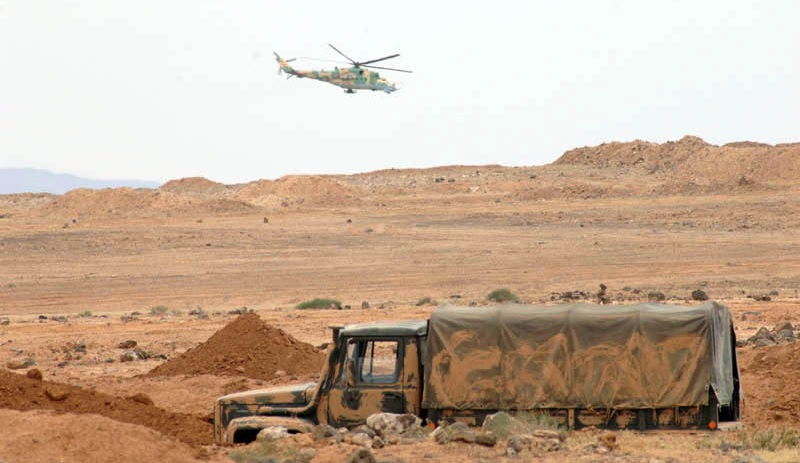 Syrian Army Reinforces Its Positions Around Al-Safa North Of Al-Suwayda (Video)