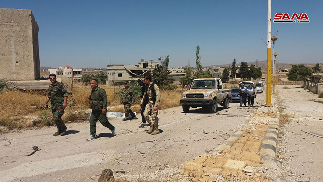 Syrian Millitary Launches Security Operation Against ISIS Cells In Northeastern Daraa