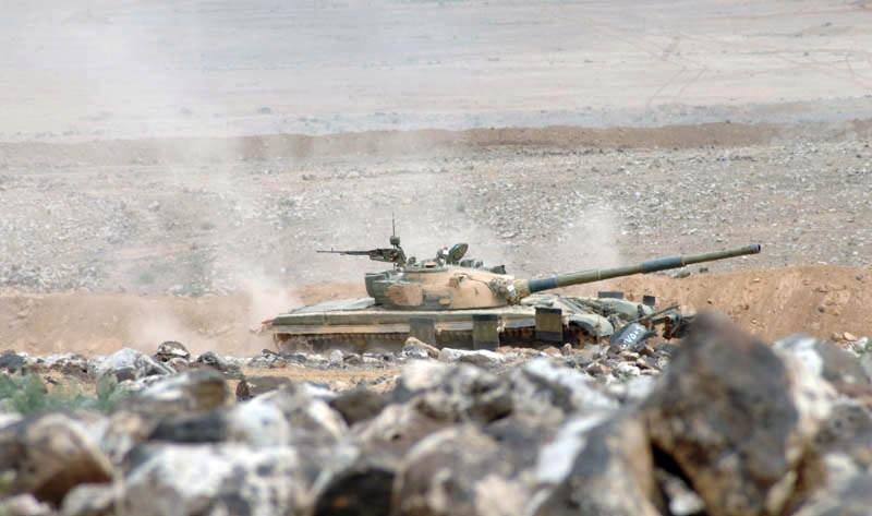 Syrian Army Tightens Its Grip On Al-Safa North Of Al-Suwayda