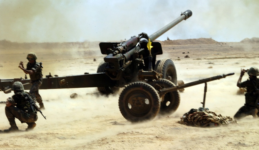 Syrian Army Artillery Shells Positions Of HTS And Jaysh Al-Izza In Northern Hama And Southern Idlib
