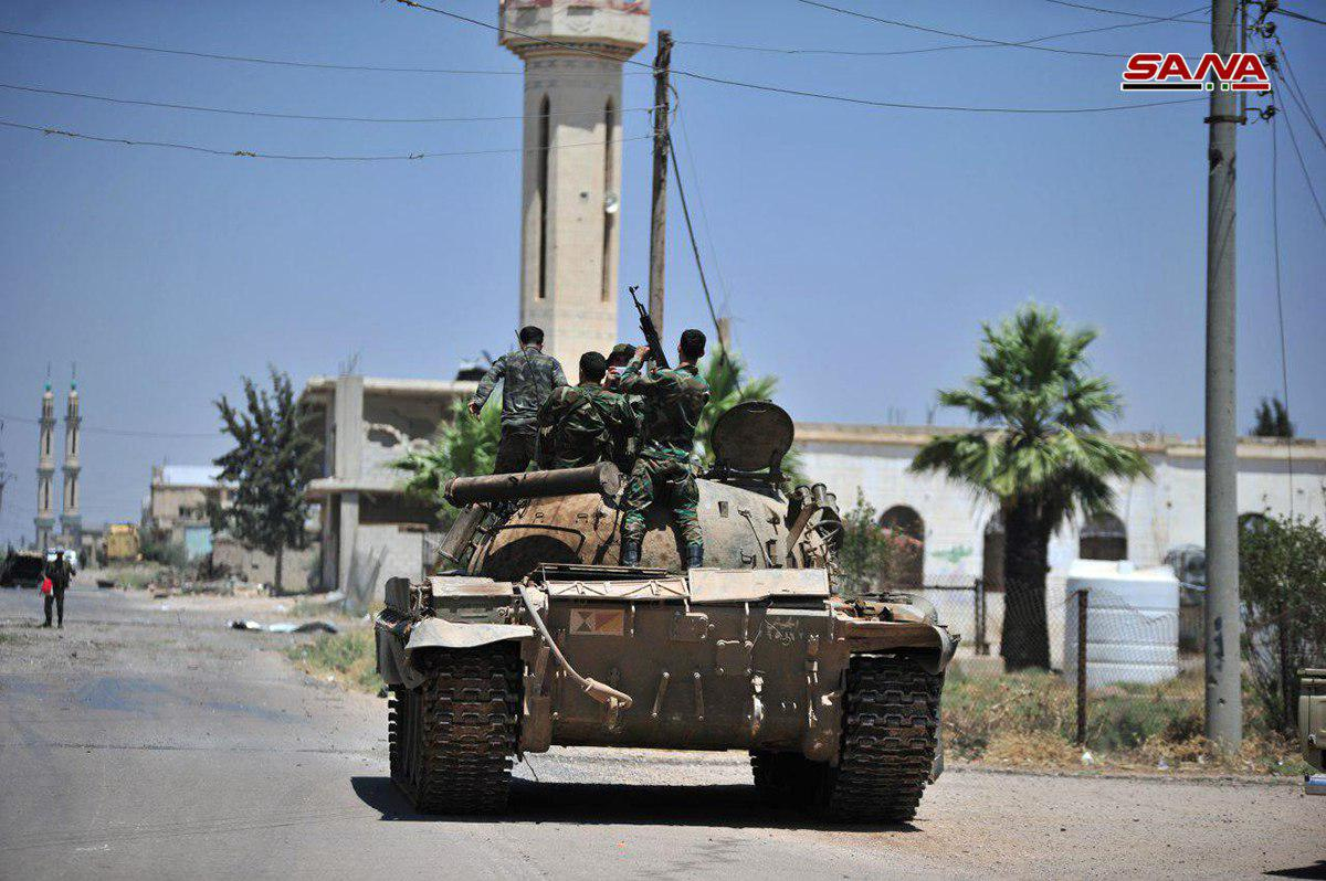 Syrian Army Arrests More Than 300 ISIS Suspects In Lajat Region