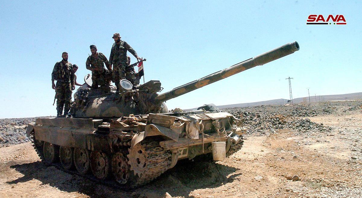Syrian Army Splits ISIS-held Pocket North Of Al-Suwayda