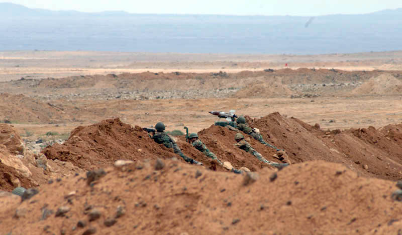 Syrian Army Prevents ISIS Members In Al-Safa From Fleeing Towards Al-Tanaf