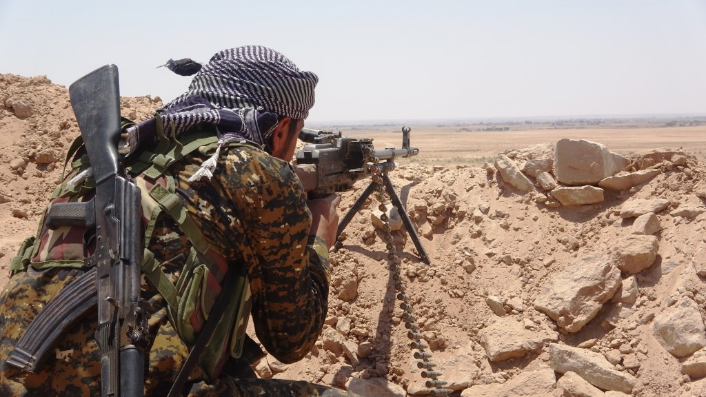 SDF Repels Two ISIS Attacks And Continues Its Advance In Euphrates Valley (Map)