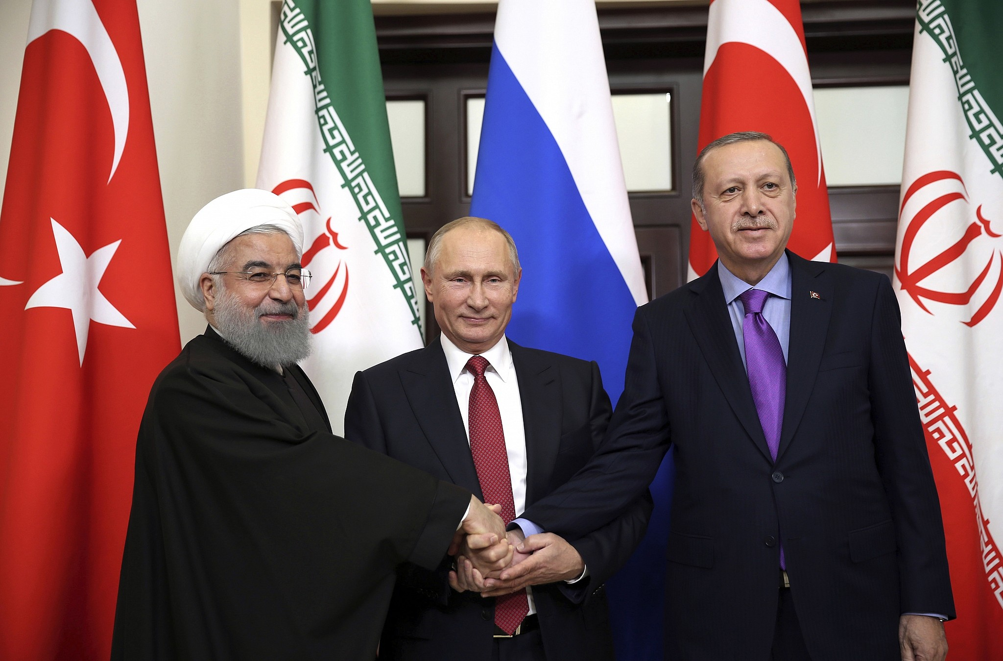 Leaders Of Russia, Turkey And Iran Held New Round Of Talks On Syria