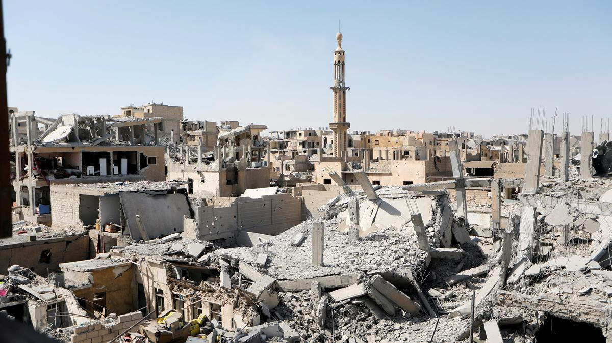 Series Of Mysterious Explosions Rocked Raqqa City