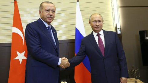 Clashes Continue In Idlib De-Escalation Zone As Erdogan And Putin Meet In Sochi