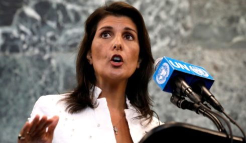 Nikki Haley Accusess Russia Of Working To Undermine North Korea Sanctions, Associates It With Assasination Of Kim Jong Un's Half-Brother