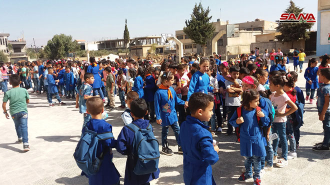 Syrian Government Is Going To Reconstruct 4,000 Schools In Three Years