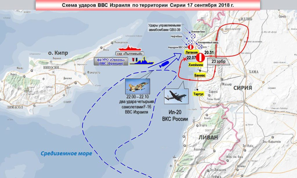Russian Military: IL-20 Was Shot Down By Syrian S-200 Because Of Israeli F-16s Used It As Cover