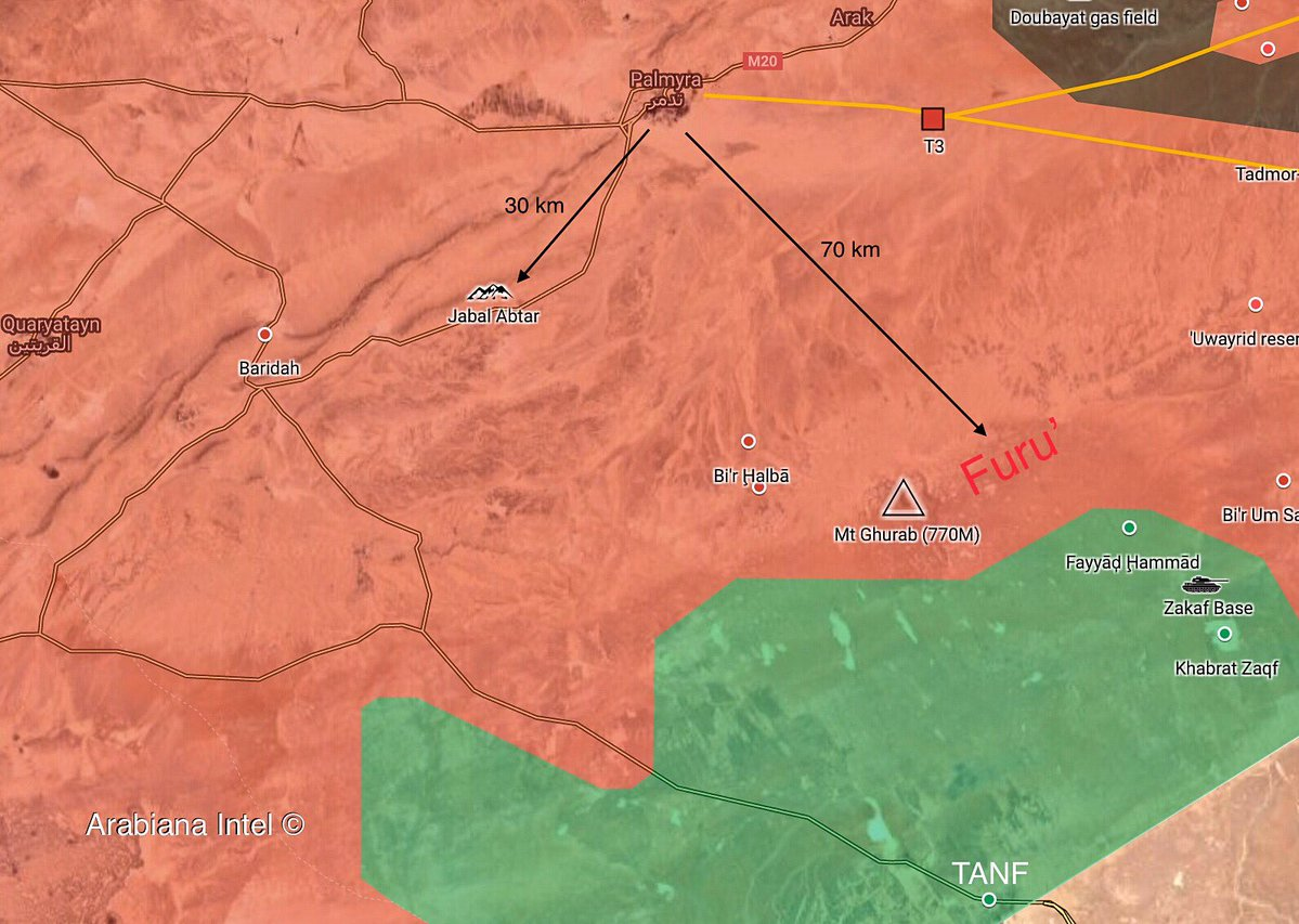 Syrian Army Continues Operations Against ISIS In Homs-Deir Ezzor ...