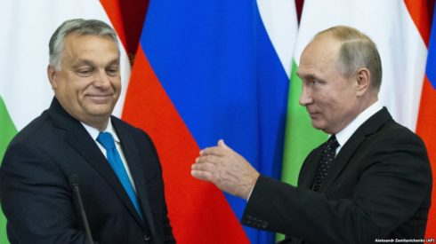 Hungary Wants Russia To Deliver Gas To Europe Avoiding Ukraine