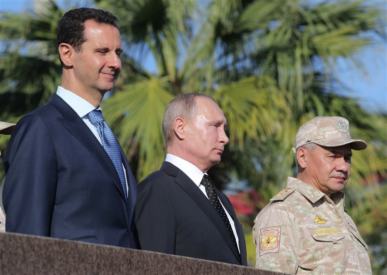 Assad Sends Telegram To Putin Saying Israel Is To Blame For IL-20 Incident