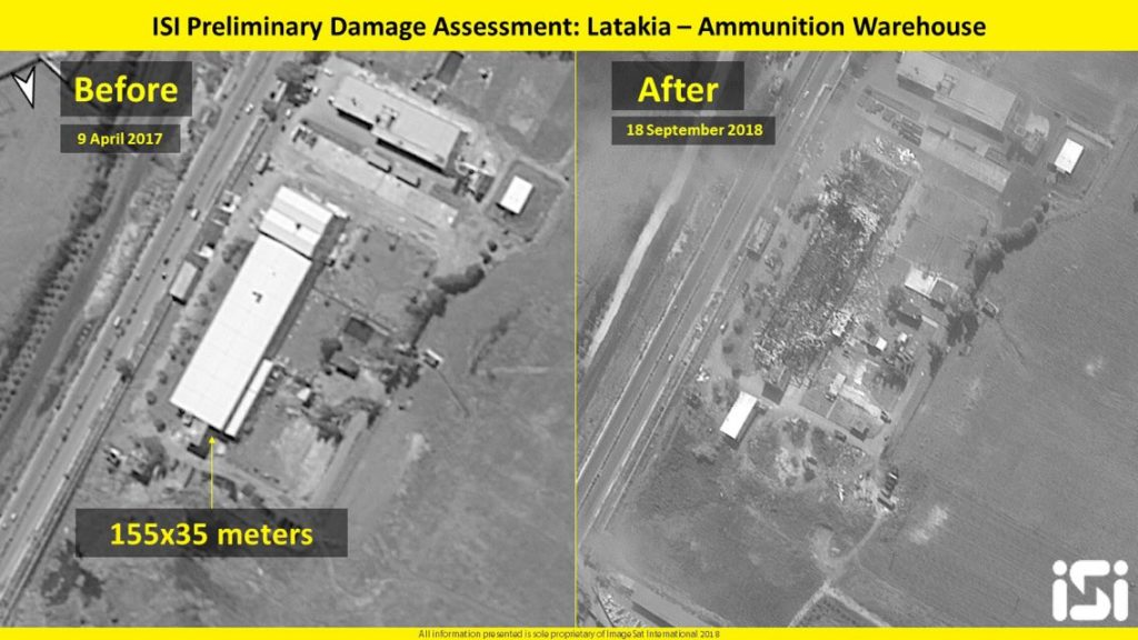 Satellite Imagery: Reults Of Israeli Strike On Syria's Lattakia
