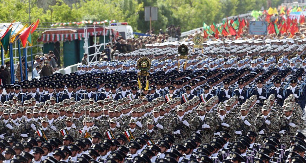 Iran Is Ready To Confront US, 'Small Mercenary States'