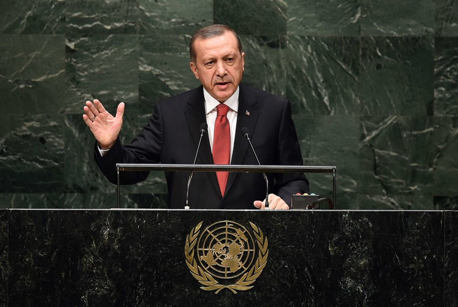 Speaking At General Assembly Erdogan Slams EU, Demands Modernization Of UN