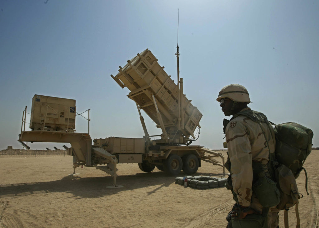 US Forces Are 'In Process' Of Deploying Air Defense Systems To Iraq: Central Command