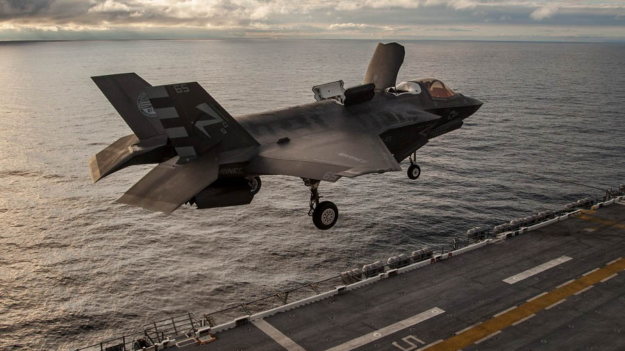 US Marine Corps' F-35B Is About To Carry Out Its First Combat Mission