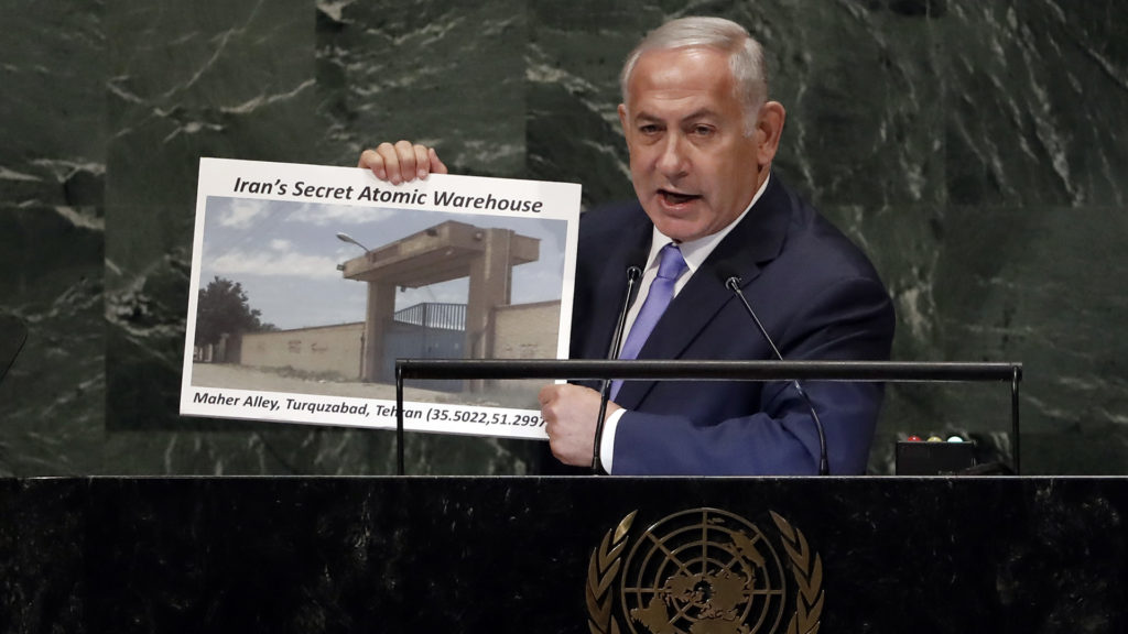 Netanyahu's Latest Ticking Iran Bomb Stunt at the UN General Assembly