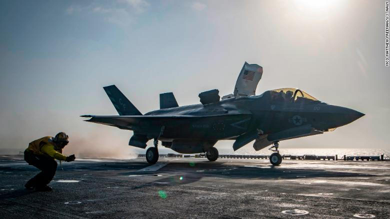 F-35B Crashes In South Carolina, Just Day After First Combat Usage Of Similar Jet In Afghanistan
