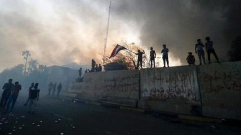 US Evacuating Consulate In Iraq, Citing Threats From Iran