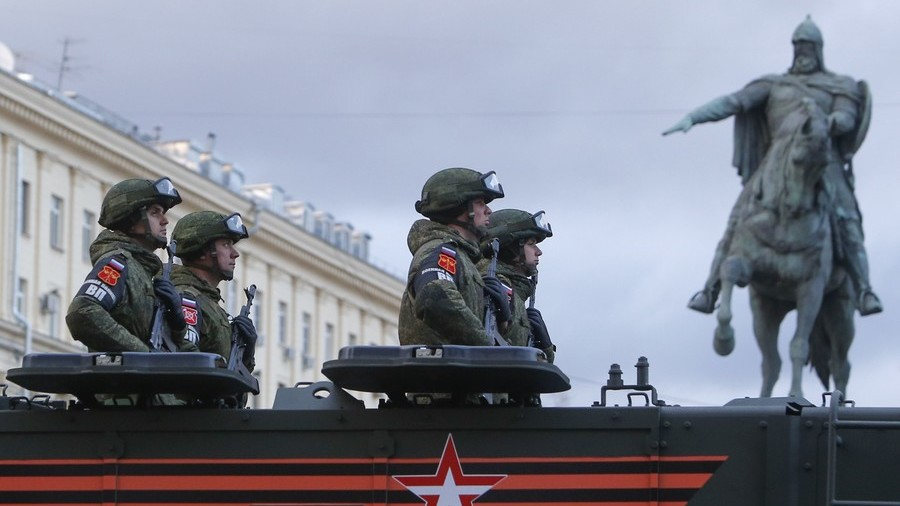 Russian Military Gets New Directorate To Combat 'Information War' Waged Against Country