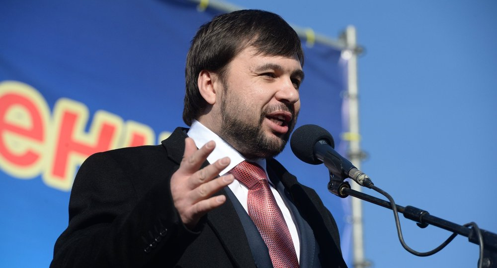 Pushilin Becomes Acting Head Of DPR As Military Tensions Grow In Eastern Ukraine