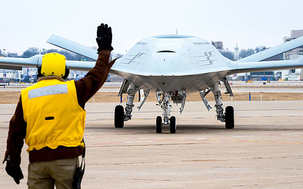 Boeing To Design, Build Carrier-Based Drone For US Navy