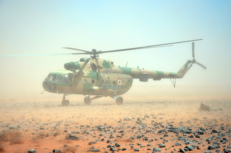 Syrian Army Is Building New Helicopter Base In Northern Hama