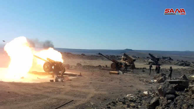 Syrian Army Captures Several Positions From ISIS In Al-Safa's Vicinity