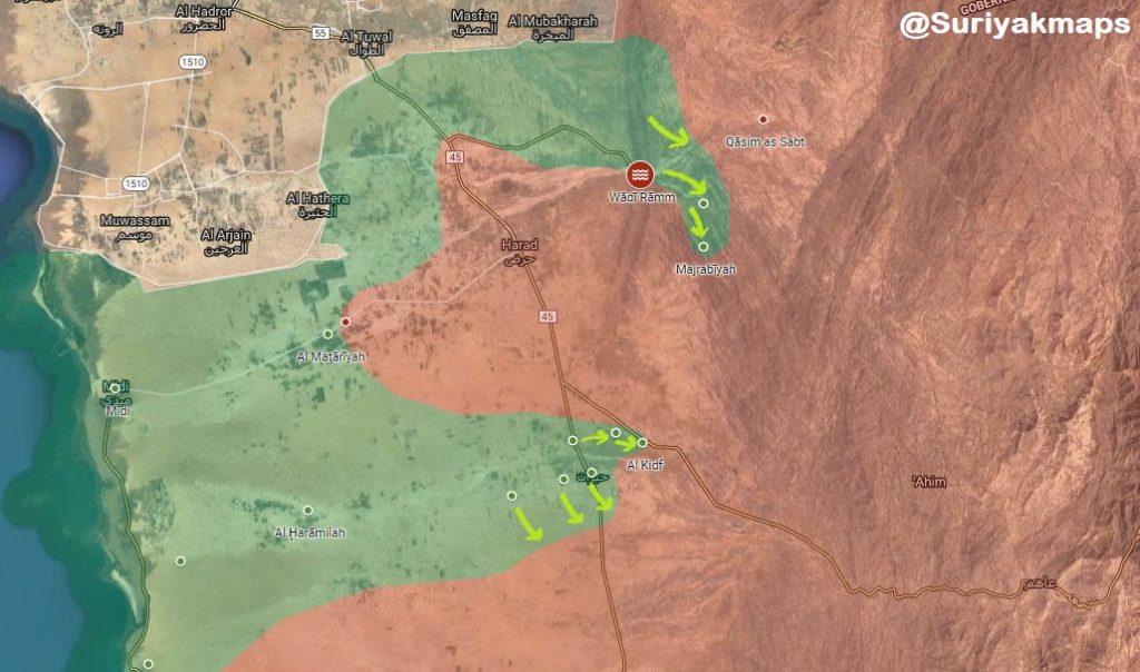 In Maps: Military Situation In Yemen's Areas Of Hudaydah, Hajjah And Saadah