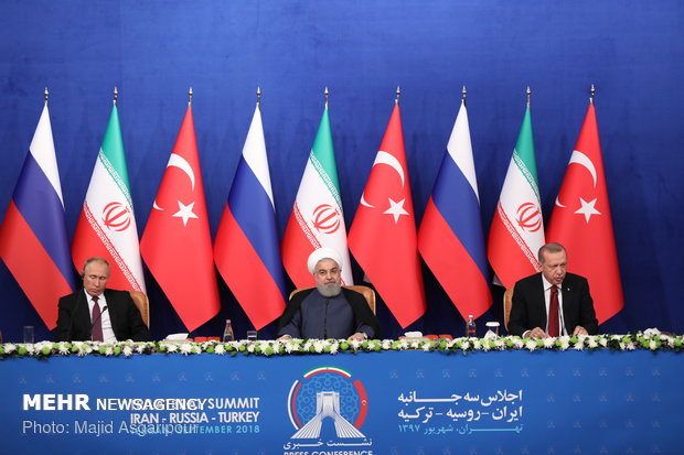 Syria Conflict: Results Of Meeting Between Rouhani, Erdogan, Putin In Teheran