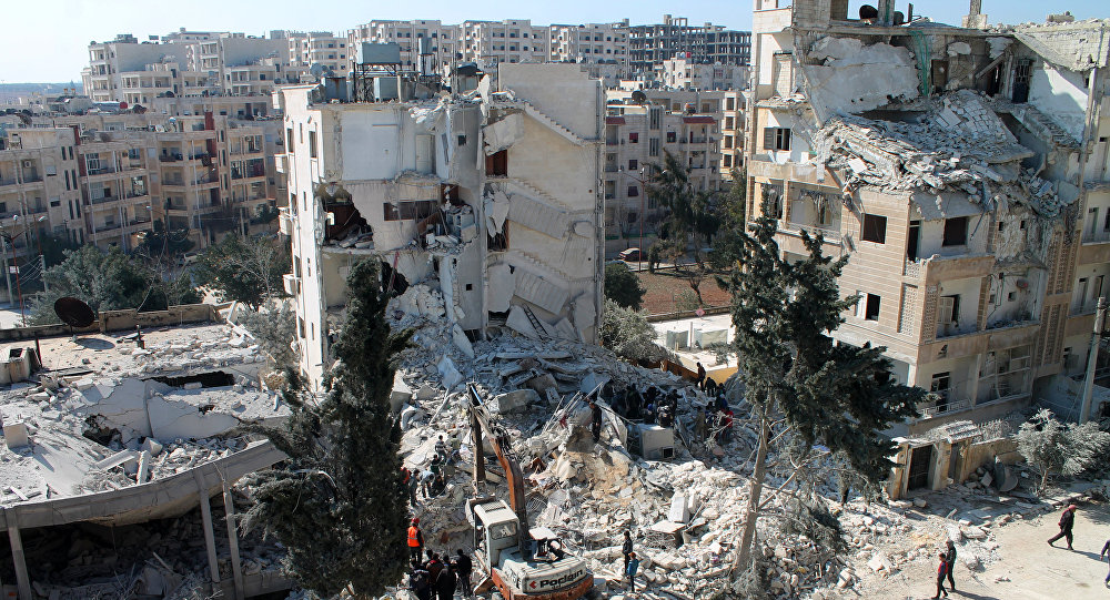 """Russia Warns US And Its Allies  Against """"New Dangerous Steps"""" In Syria"""