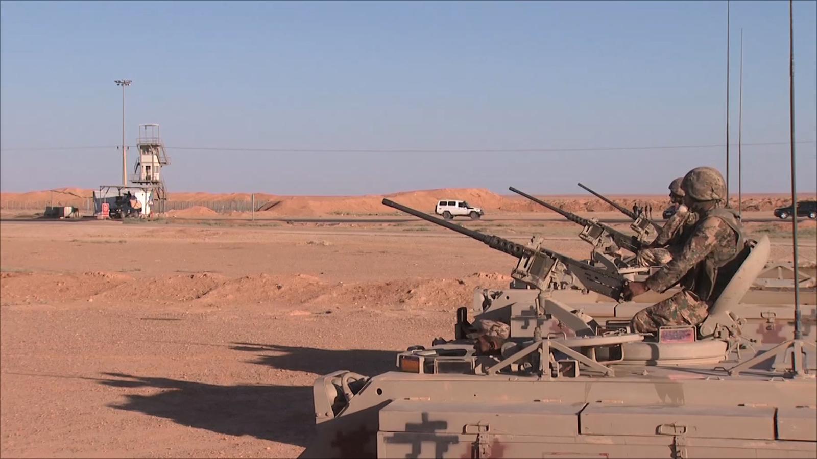 Russian-US Negotiations To Evacuate Civilians From Al-Rukban Camp Near Al-Tanaf