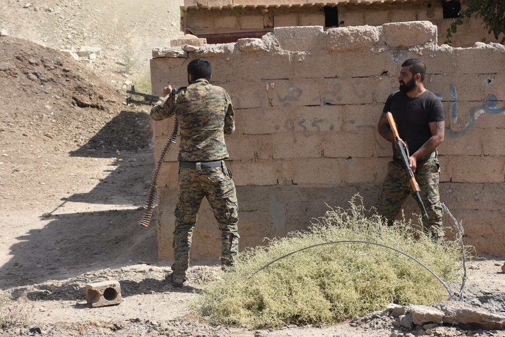 SDF Attacks ISIS Positions Around Al-Susah In Euphrates Valley