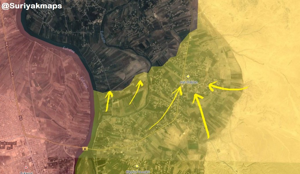 ISIS Retreats From Another Village In Euphrates Valley Under Pressure From US-backed Forces