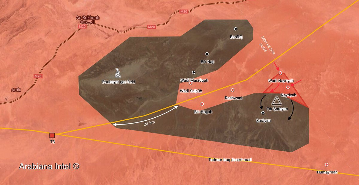 Syrian Army Recaptures Three Villages In Homs Desert From ISIS (Map, Video, Photos)