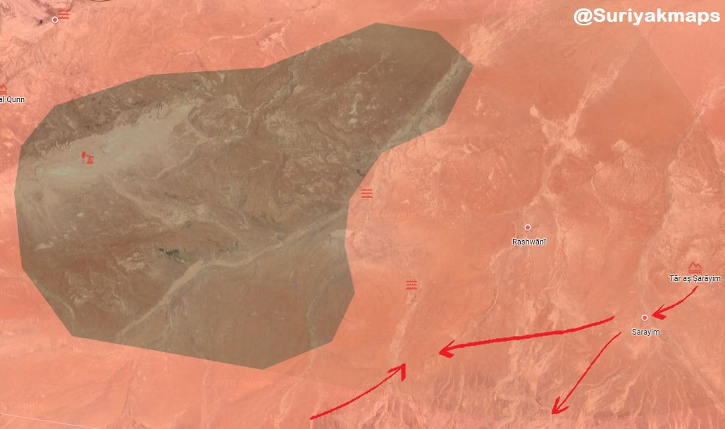 Syrian Army Clears New Area In Homs Desert From ISIS (Map)