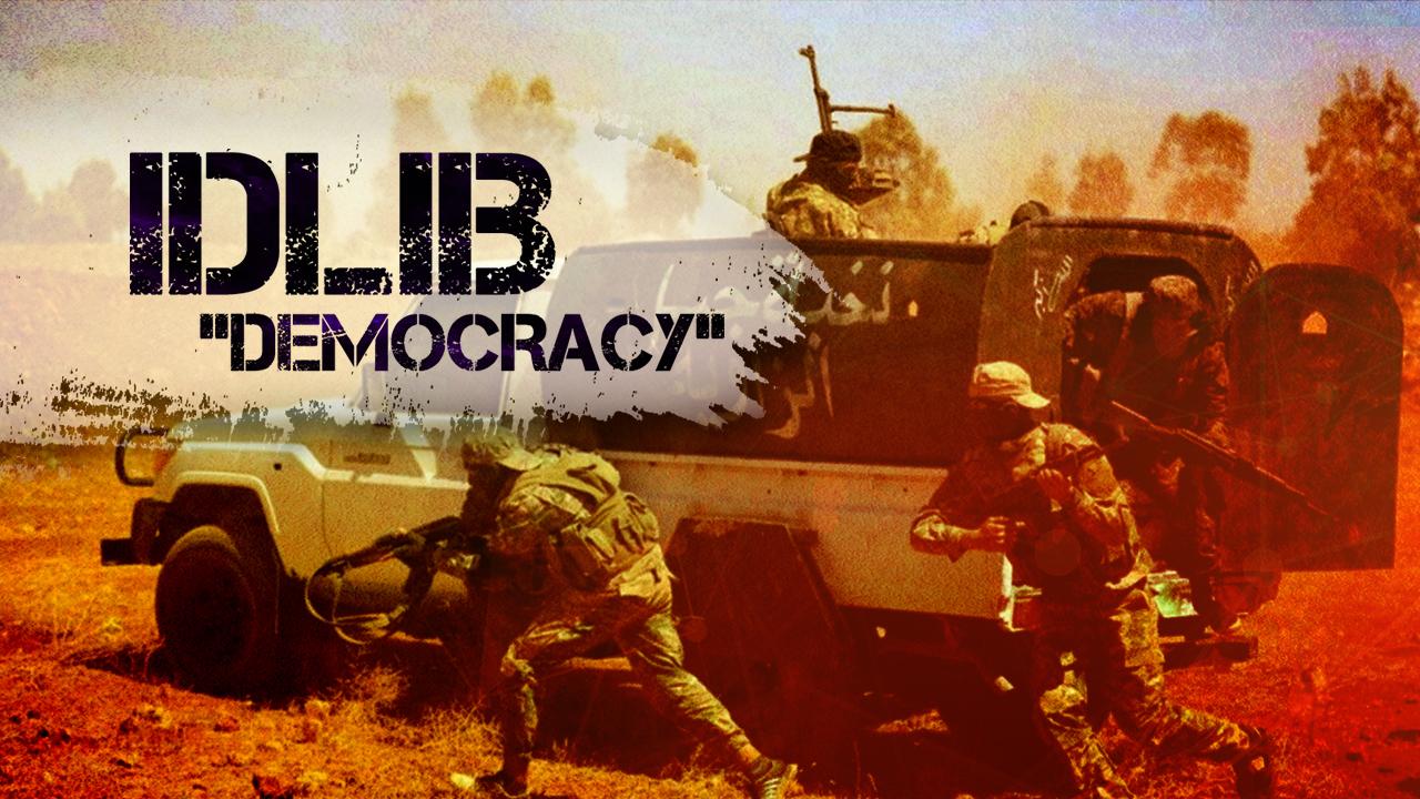 "Activists Launch ""Idlib Green"" Campaign To Confront Jabhat Al-Nusra"
