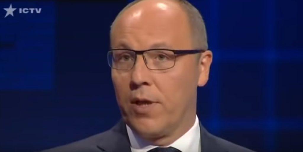 Chairman Of Ukrainian Parliament Says Hitler Was 'Big Man' For Democracy