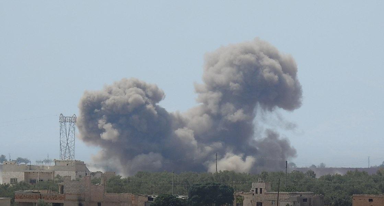 Syrian Military Expands Its Strikes On Militants To Northern Lattakia, Western Idlib