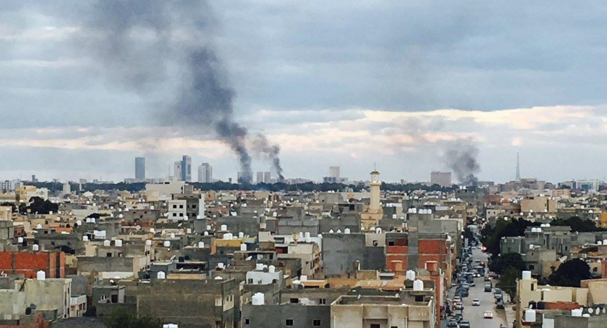 Over 30 People Killed In Clashes Erupted Between Militants In Libya's Tripoli