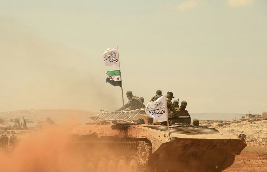 Jaysh Al-Izza Claims Its Fighters Repelled Syrian Army Attack In Northern Hama
