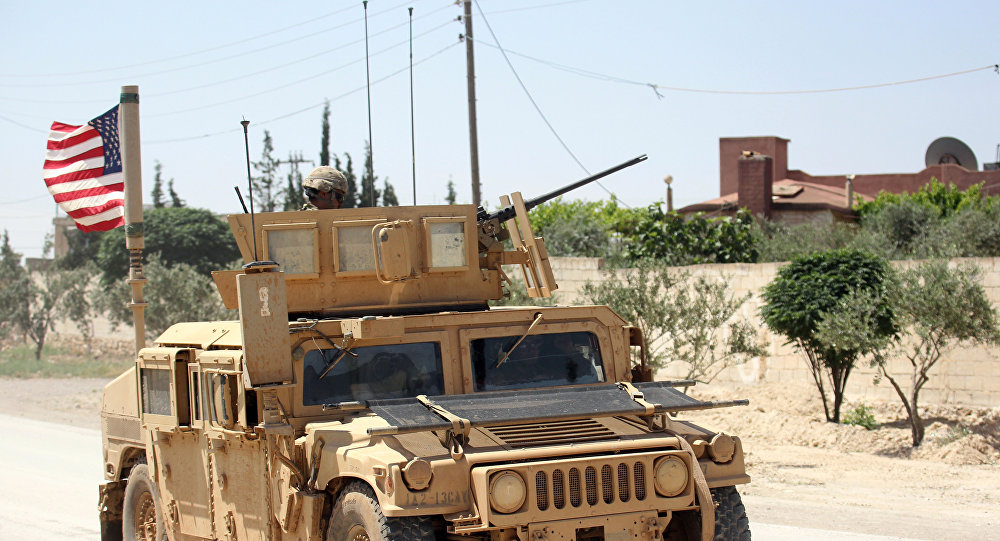 US Troops Finish 8-Days Long Drills In Syria's al-Tanf