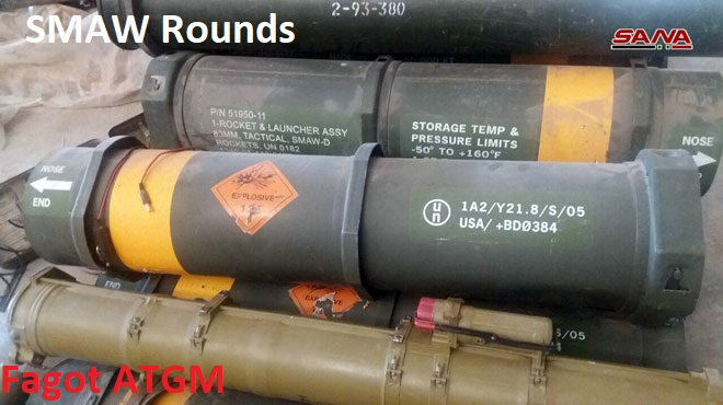 Syrian Army Discovers More US-Supplied Weapons In Southern Al-Quneitra (Photos)