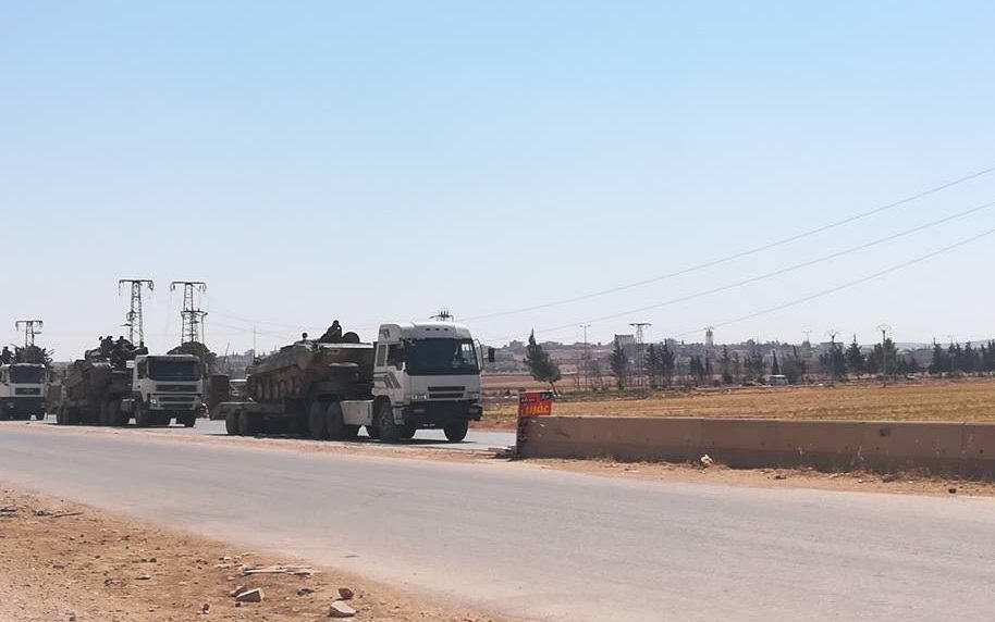 Syrian Army Deploys Troops North Of Aleppo City